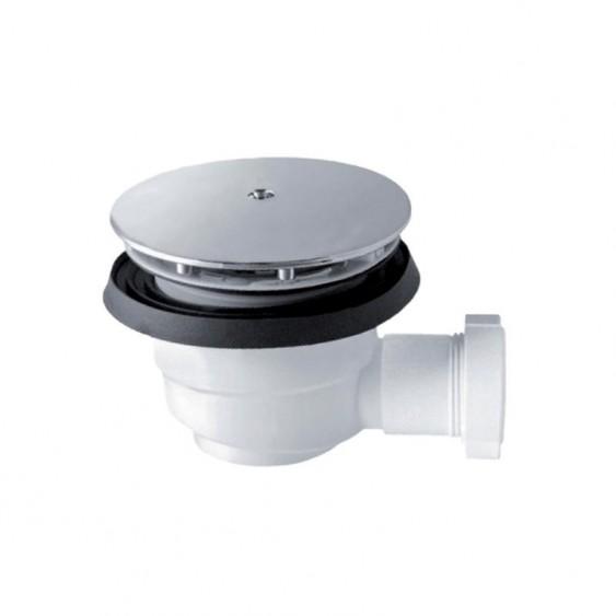 Piletta sifonata per piatto doccia ispezionabile H 70 mm
