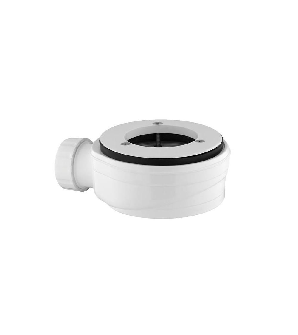 Piletta sifonata per piatto doccia ispezionabile H 60 mm
