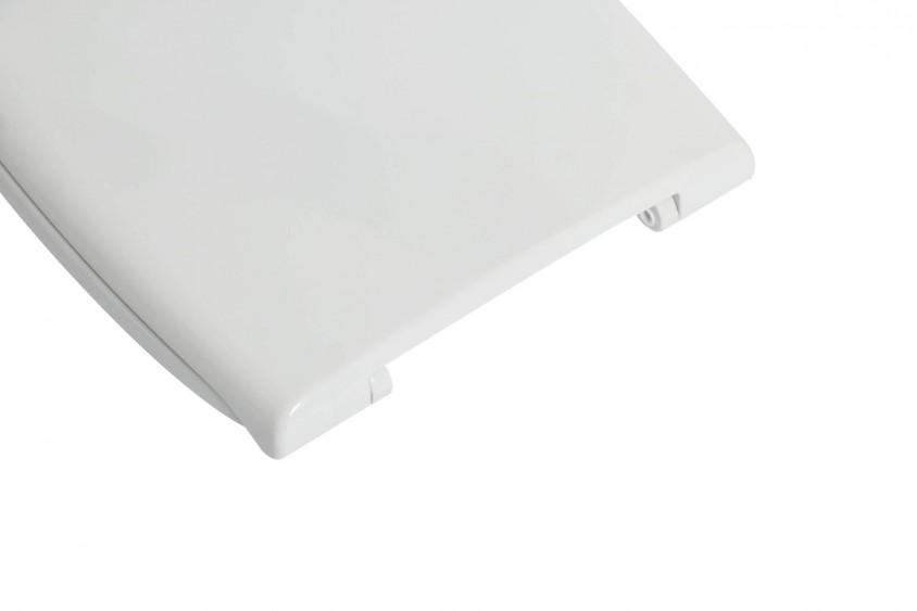 Copri WC sedile adattabile a Duravit serie D-Code in termoindurente bianco