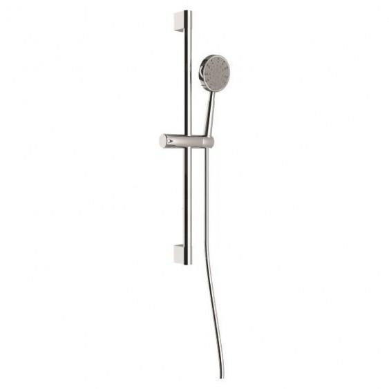 Asta doccia con doccetta in ABS con supporto regolabile 3 funzioni