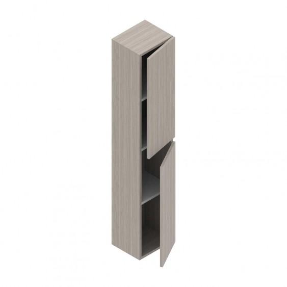 Colonna pensile h 160 cm olmo 2 ante reversibile