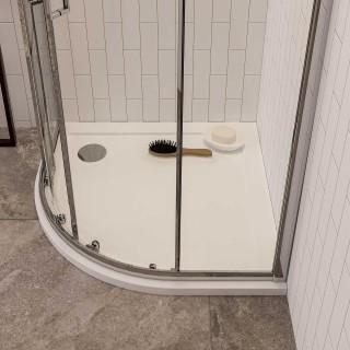 Piatti doccia semicircolari